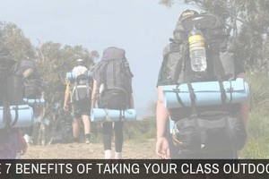 Benefits of Taking Your Class Outdoors