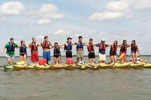 Kayaking activity for schools