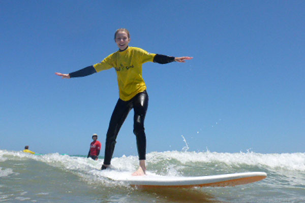 Schools surf Lessons at Middleton and Moana photo